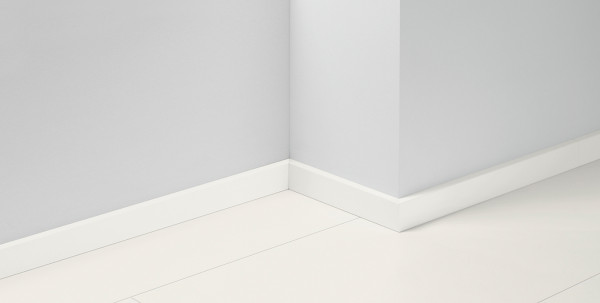 Sockelleiste SL5 Weiss Grundiert D004