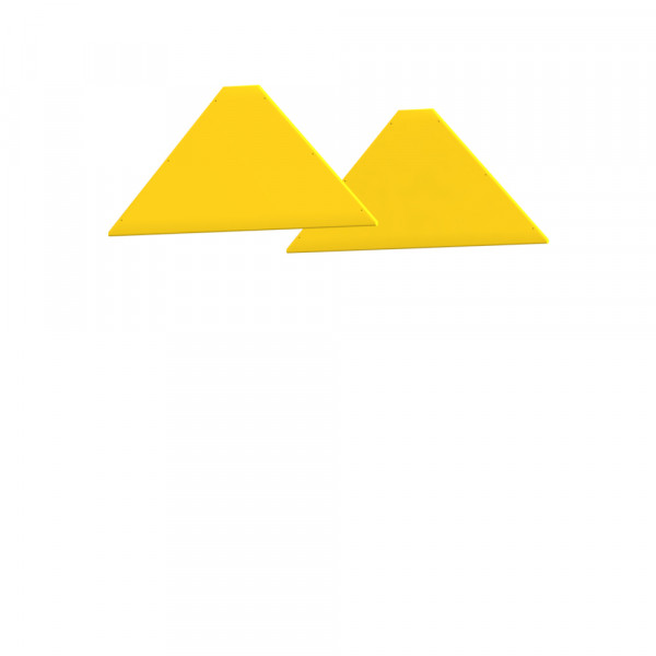 WINNETOO Giebel pflegeleicht gelb