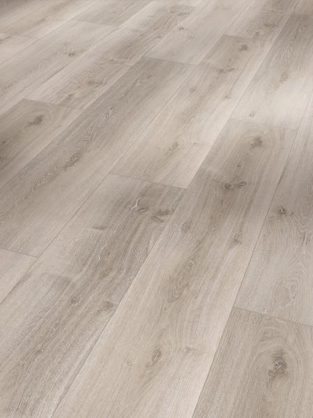 Vinyl Basic 5.3 Eiche grau geweißt gebürstete Struktur Landhausdiele gefast