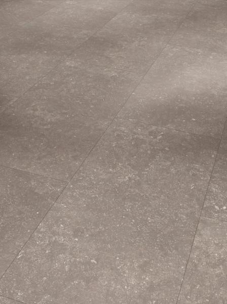 Designboden Modular ONE Großfliese Granit perlgrau Steinstruktur Minifase