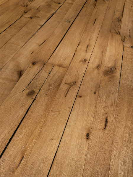 Parkett Trendtime 8 Classic Eiche Tree Plank Naturöl plus 1-Stab Landhausdiele, gefast