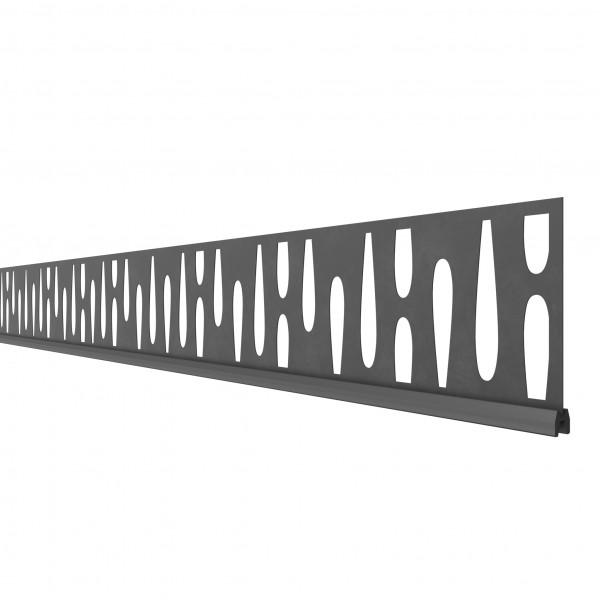SYSTEM Dekorprofil Omega 15 cm Höhe
