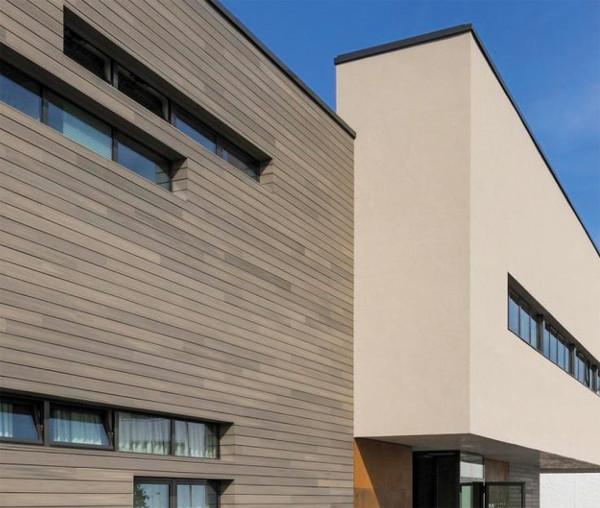 Ambientebild WPC Fassade