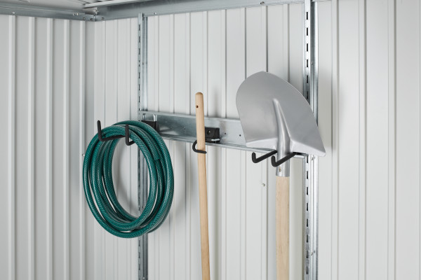 Haken-Set für Gerätehäuser