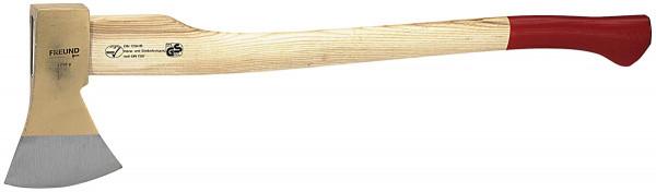 Holzaxt, GS DIN 7287 B, Eschenkuhfußstiel