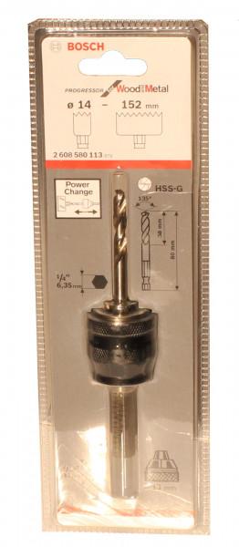 Adapter für Lochsägen 30 und 60 mm für Einbauleuchten