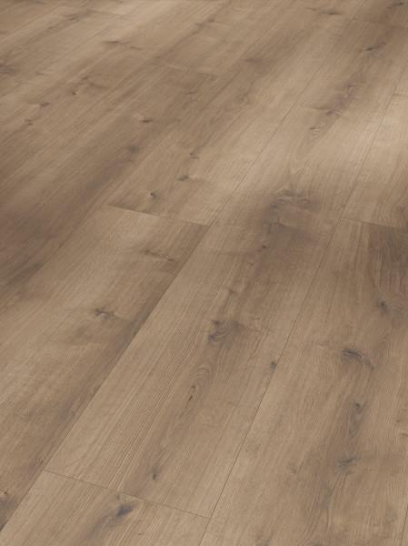 Designboden Modular ONE Schlossdiele Eiche pure perlgrau Holzstruktur Landhausdiele Minifase
