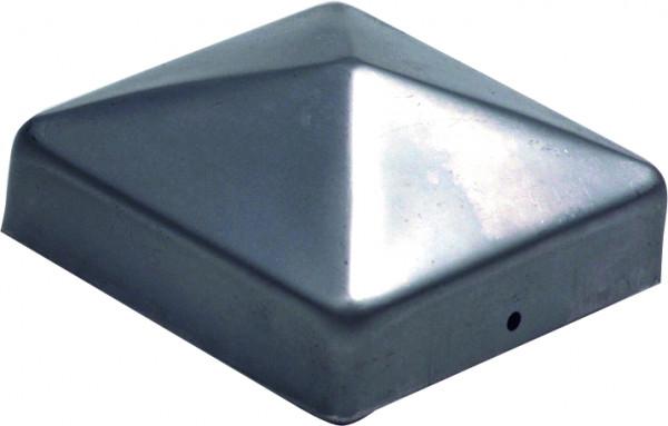 Pfostenkappe Pyramide Edelstahl 90 x 90mm