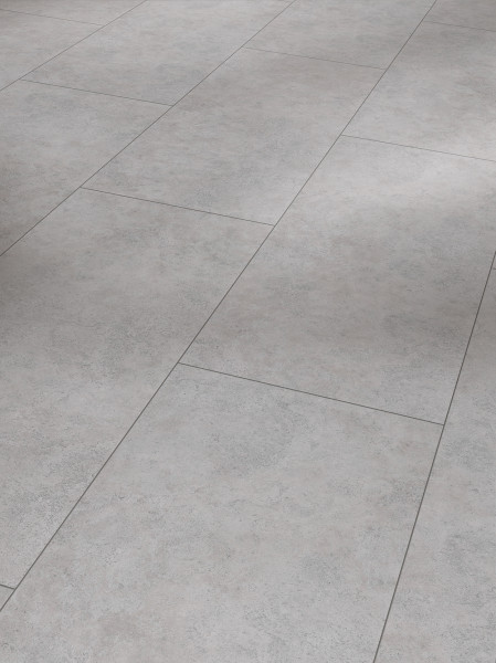 Vinyl Trendtime 5.50 Beton Grau Steinstruktur gefast