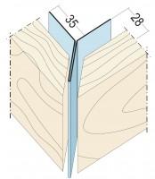 Fassadeneckprofil Außenecke Y-Form