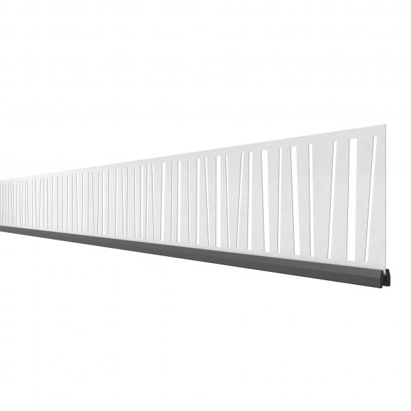 SYSTEM Dekorprofil Linea 15 cm Höhe