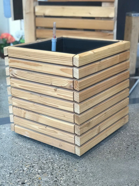 Blumenkasten Holz Rhombus