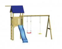 WINNETOO Spielturm SWING mit Schaukel und Rutsche
