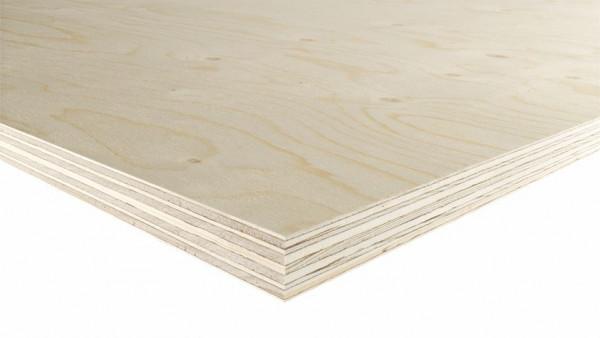 WISA Spruce Sperrholzplatte 250 x 125 cm