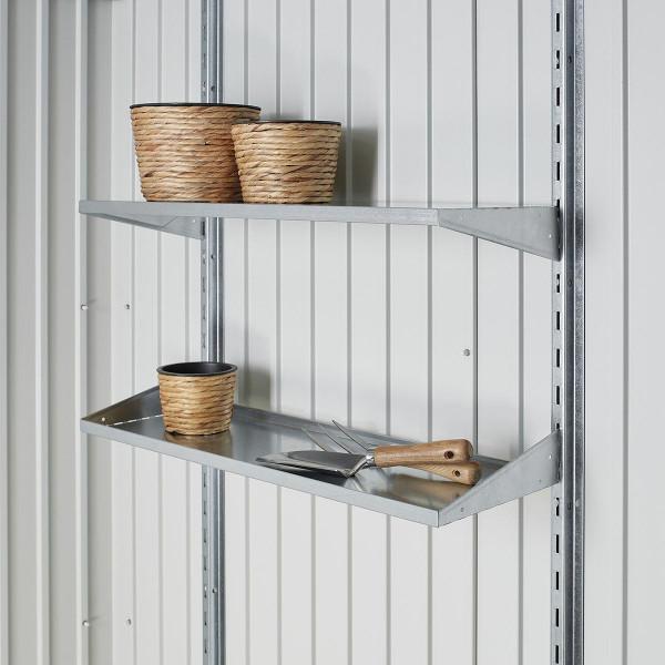 Regalböden für Gerätehäuser