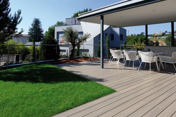Terrassendielen FUN-Deck Multigrey light