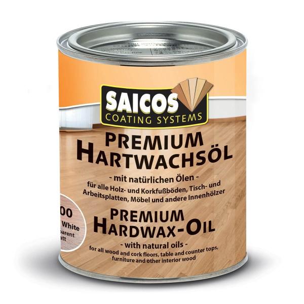 Premium Hartwachsöl Weiß transparent matt