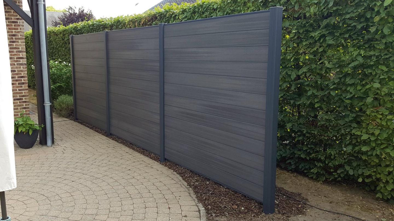 Wpc Sichtschutz Fun Fence Holz Braun