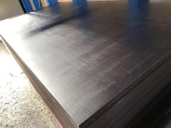 Siebdruckplatte 250x125cm einseitig Sieb/einseitig glatt
