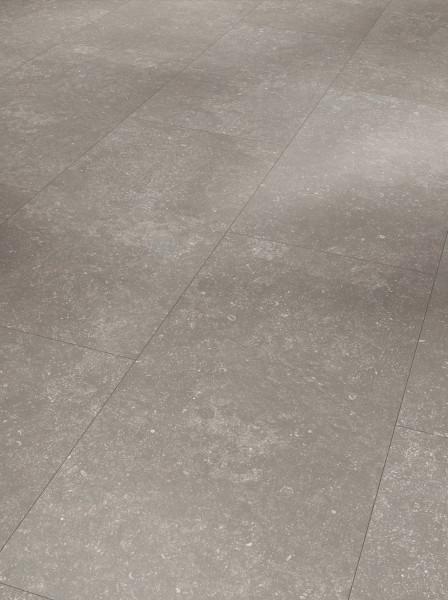 Designboden Modular ONE Großfliese Granit Grau Steinstruktur Minifase
