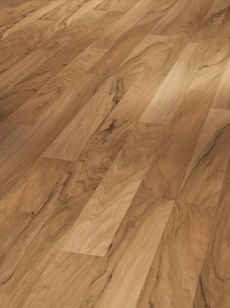 Laminat Basic 200 Nussbaum 2-Stab Holzstruktu Schiffsboden