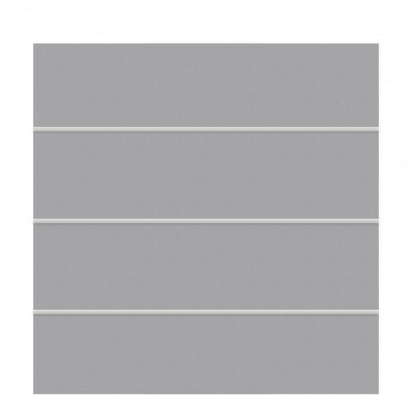 Sichtschutz BOARD XL Zaun-Set titangrau