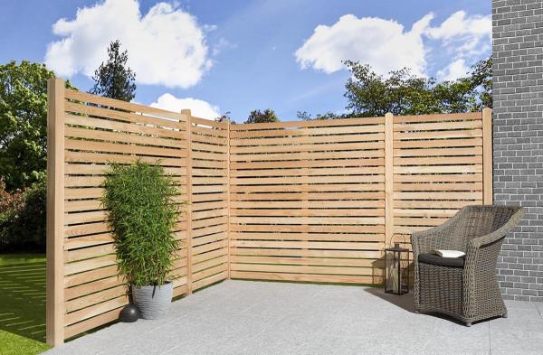 Holz Sichtschutz