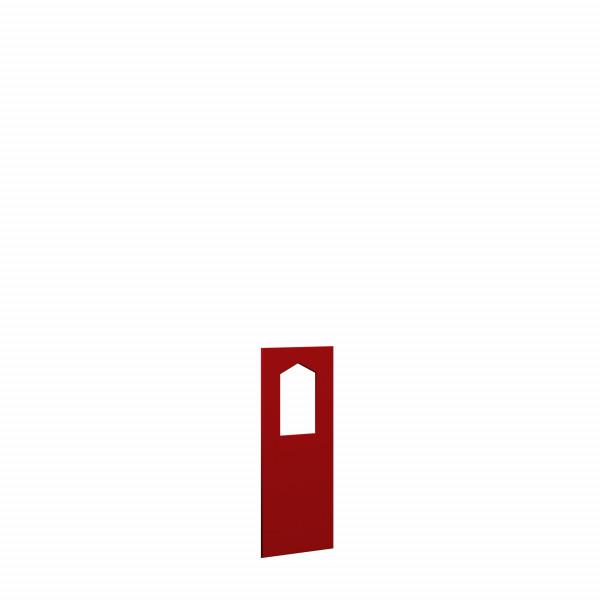 WINNETOO Fensterwand pflegeleicht rot