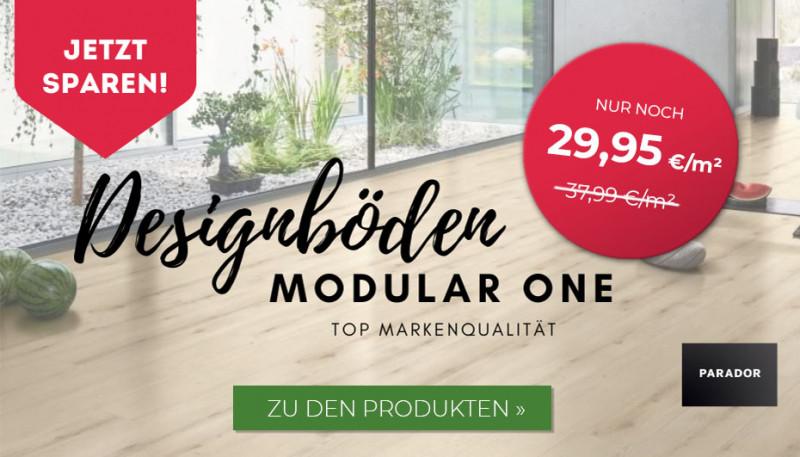 Designboden Modular One Angebot