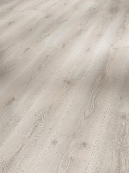 Eco Balance PUR Eiche Askada weiß gekälkt Holzstruktur Landhausdiele Minifase