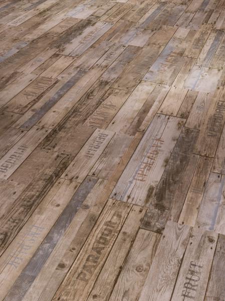 Vinyl Classic 2030 Boxwood Vintage Braun gebürstete Struktur Stabmix