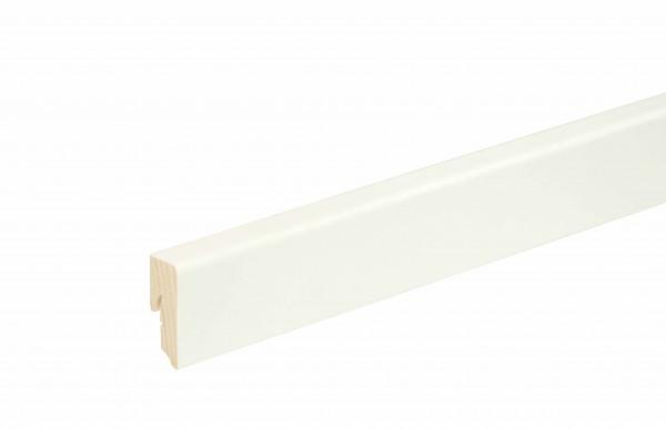 Sockelleiste Weiß foliert 40mm