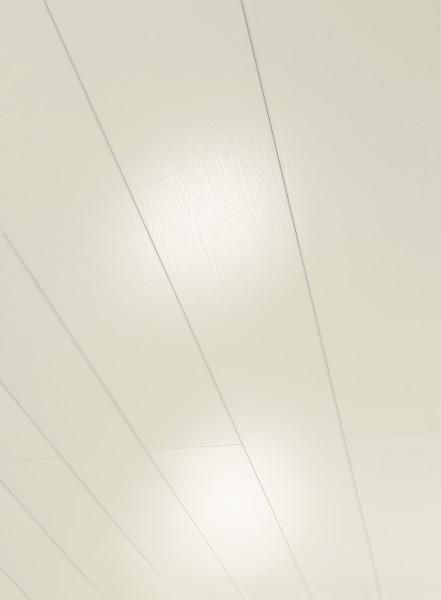 RapidoClick Esche Weiss glänzend geplankt Dekor