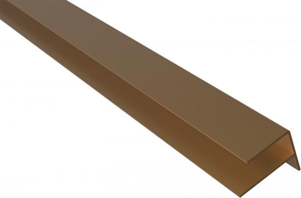 WEO35 F-Profil für WEO35 Fassadenrprofil