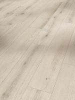 Designboden Modular ONE Eiche Urban weiß gekälkt Holzstruktur Landhausdiele Minifase