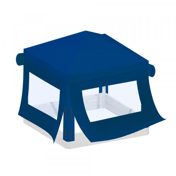 BENJAMIN Dach mit Seitenteilen blau