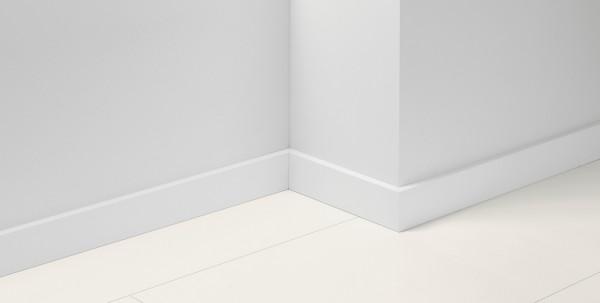 Sockelleiste SL18 Uni Weiss Dekor D001