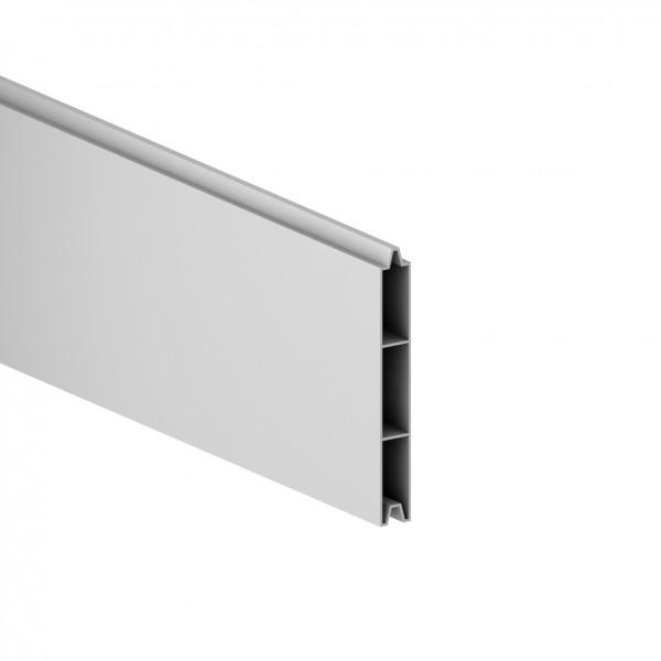 Sichtschutz SYSTEM ALU-Einzelprofil silber