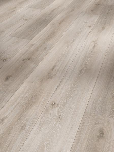 Vinyl Basic 30 Schlossdiele Eiche grau geweißt Holzstruktur gefast