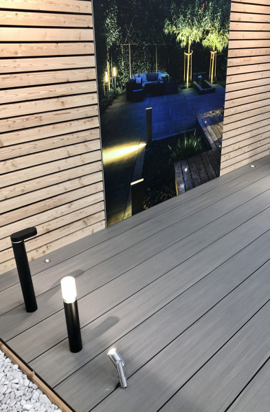 WPC Terrassendiele FUN Deck Multigrey light