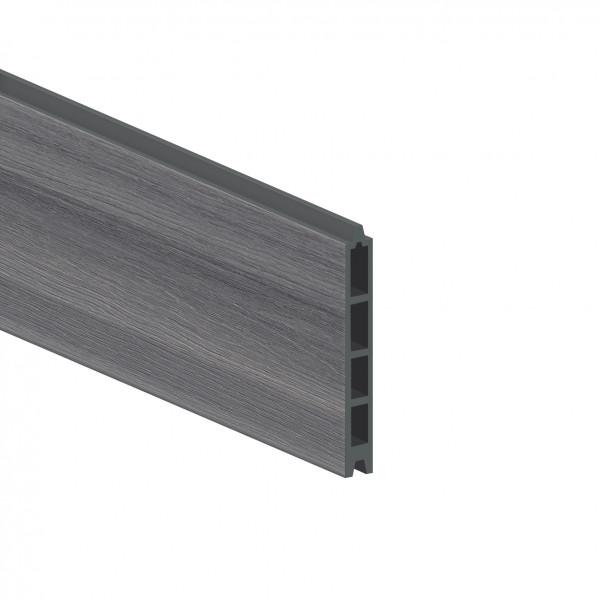 Sichtschutz SYSTEM Platinum Einzelprofil grau
