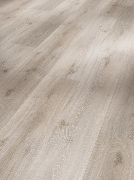 Vinyl Basic 30 Eiche grau geweißt gebürstete Struktur Landhausdiele