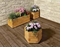 Blumenkasten Toscana farbig lasiert