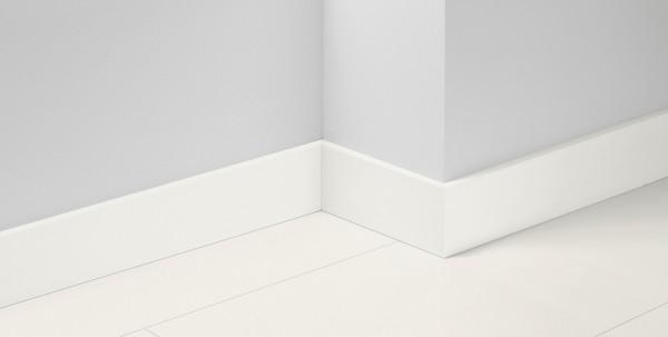 Sockelleiste SL21 Weiss Grundiert D004