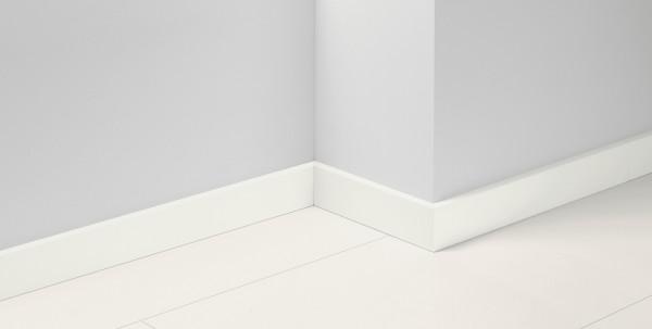 Sockelleiste SL18 Uni Weiss glänzend Dekor D003
