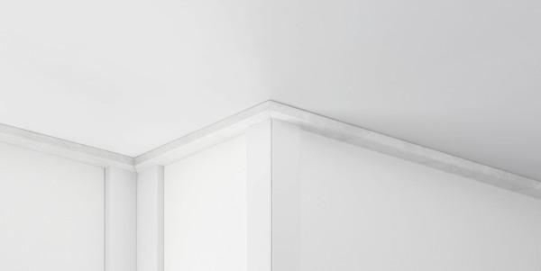 ClickBoard Abschlussleiste Weiss