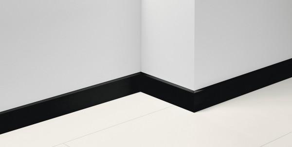 Sockelleiste SL18 Uni schwarz Dekor D002