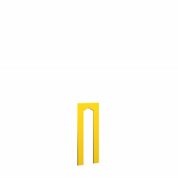 WINNETOO Türwand pflegeleicht gelb