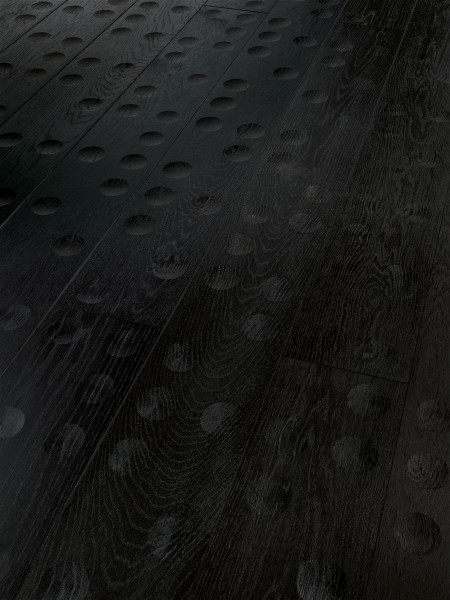 Parkett Edition Floor Fields NEA Eiche Naturöl plus 1-Stab schwarz Landhausdiele, Minifase