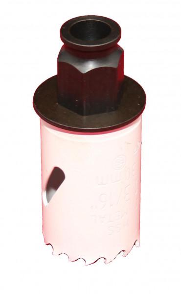 Lochsäge HSS-Bimetall, Ø 30 mm für Einbauleuchte Mars